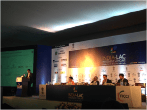 INDIA LAC INVESTMENT CONCLAVE – MINISTRY OF COMMERCE AND INDUSTRY – GOVERNMENT OF INDIA – HOTEL LALIT – NUEVA DELHI – OCTUBRE 2014